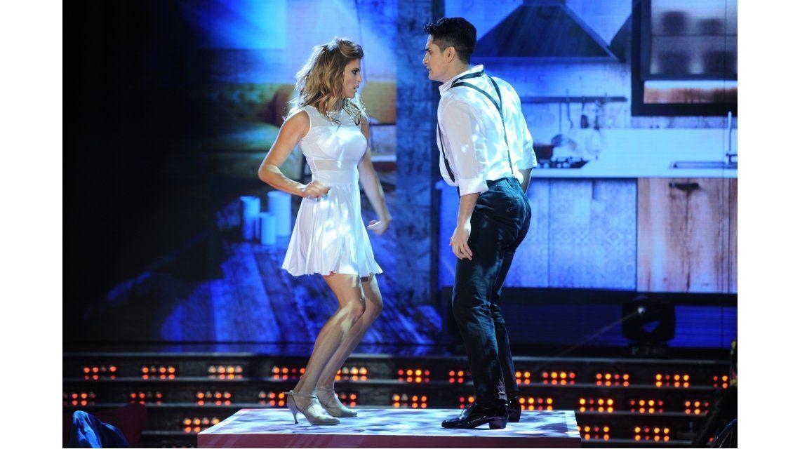 ShowMatch: María del Cerro bailó, zapateó, hizo un striptease y se llevó el mejor puntaje
