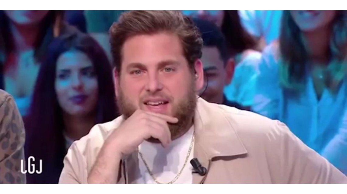 VIDEO: Jonah Hill pasó un incómodo momento en la televisión francesa