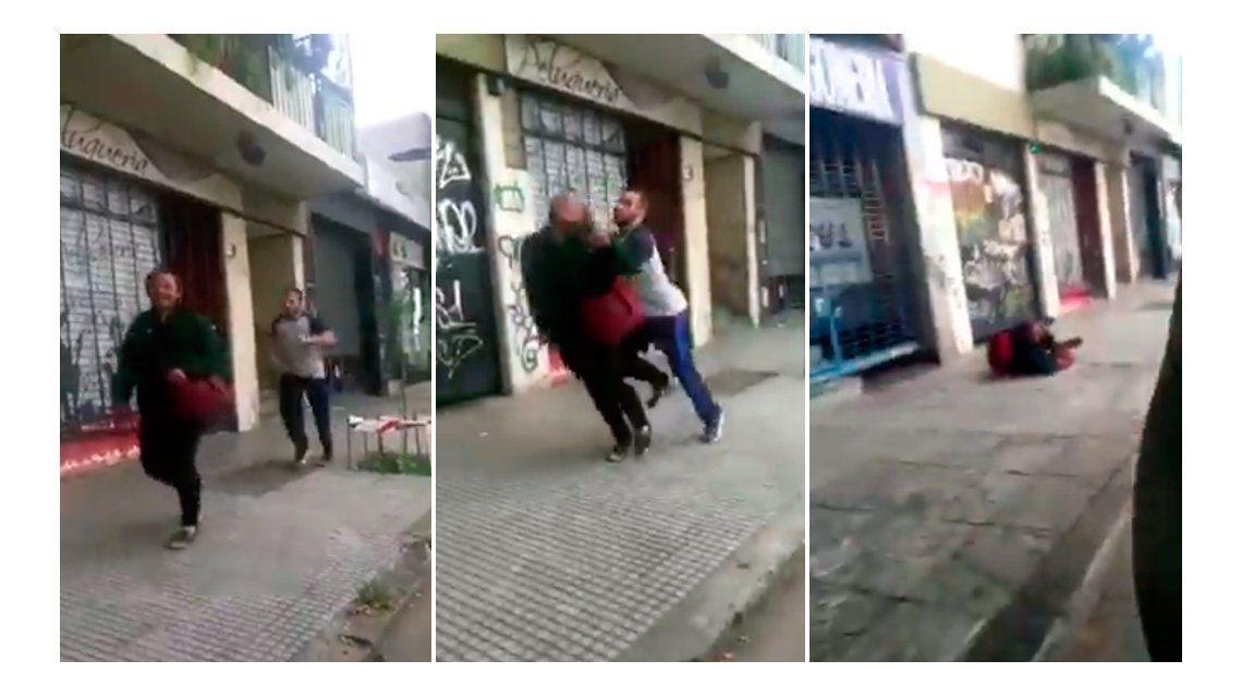 El club San Cirano suspendió de por vida al rugbier que empujó a un hombre en la calle