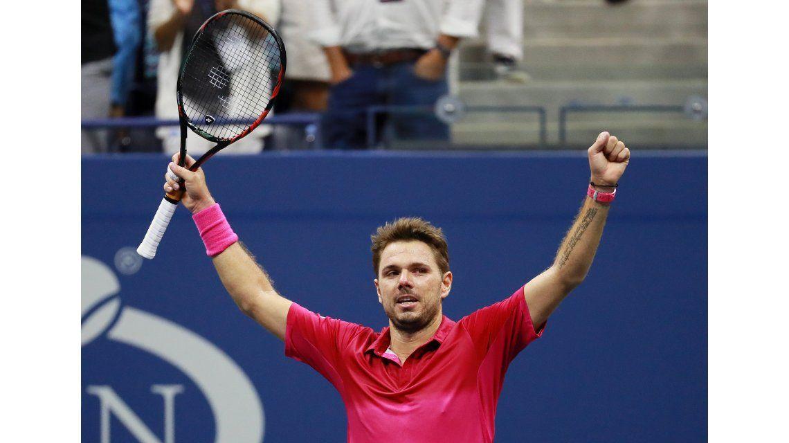 Wawrinka le ganó un partidazo a Djokovic y gritó campeón en el US Open