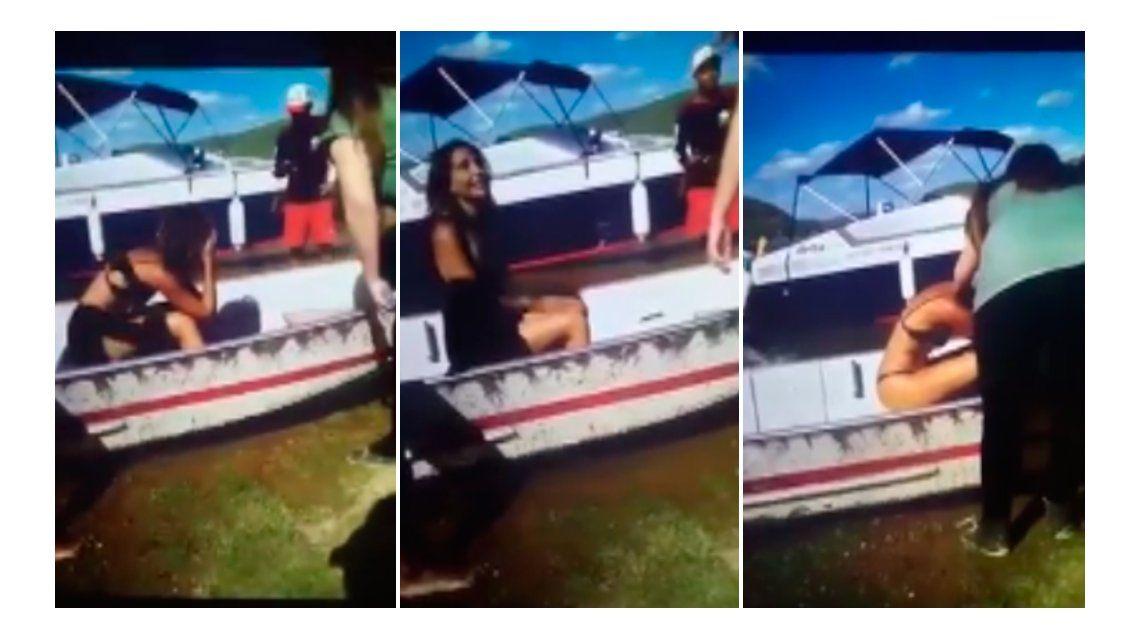 VIDEO: Desesperado llanto de una actriz por no poder salvar de la muerte a su novio