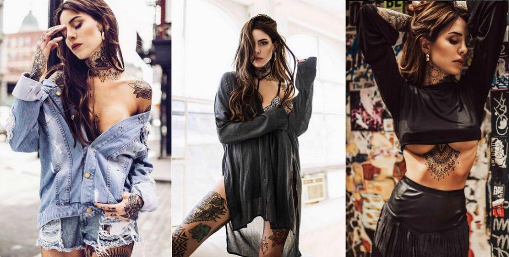 Candelaria Tinelli viajó para hacerse un nuevo tatuaje