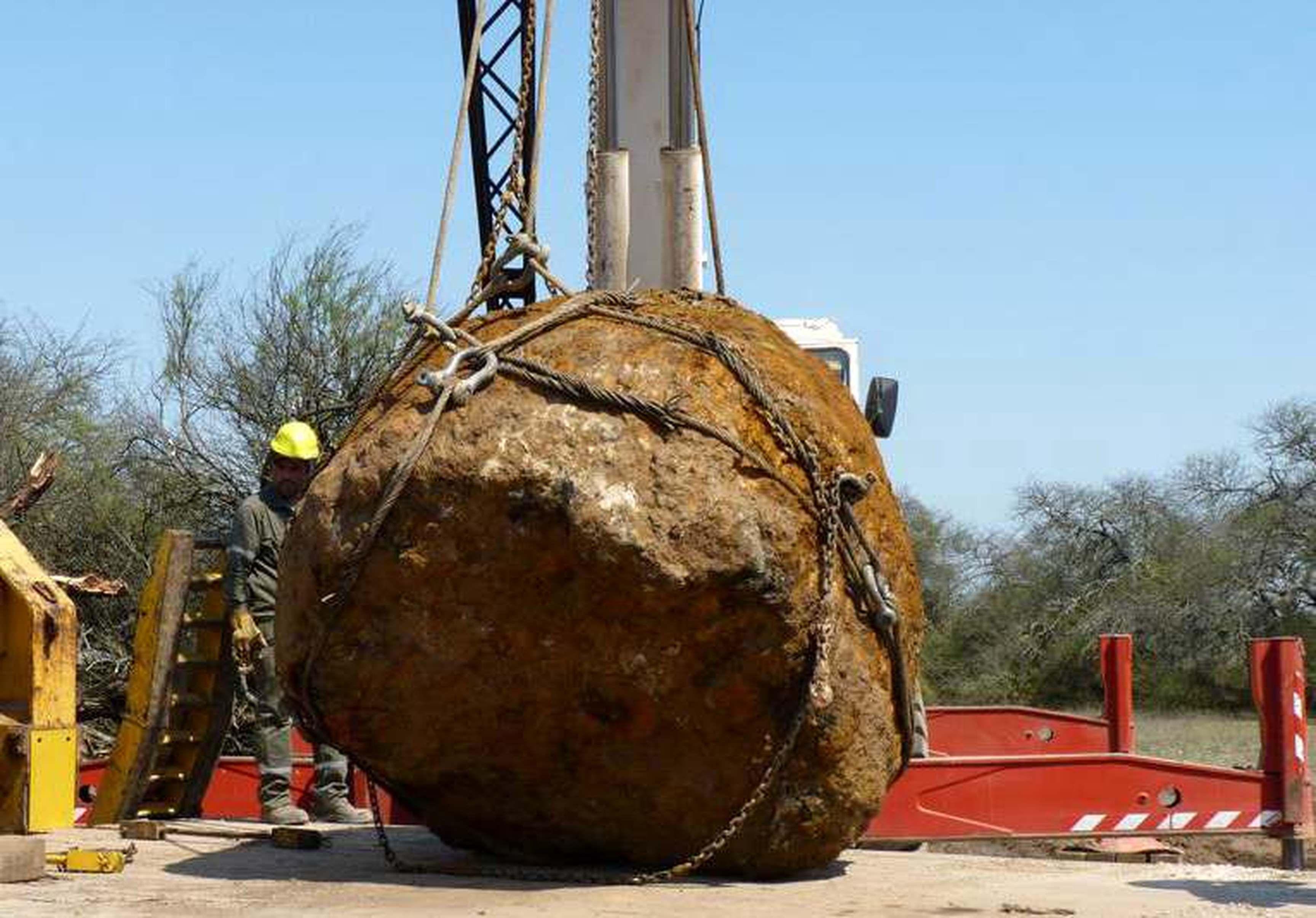 Hallan en Chaco el segundo meteorito más grande del mundo: pesa 30 toneladas