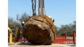 Hallaron meteorito de 30 toneladas