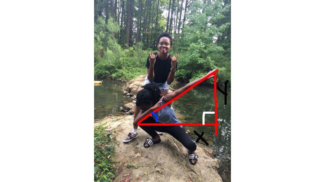 Calculó el ángulo de una foto que se sacó y se volvió viral