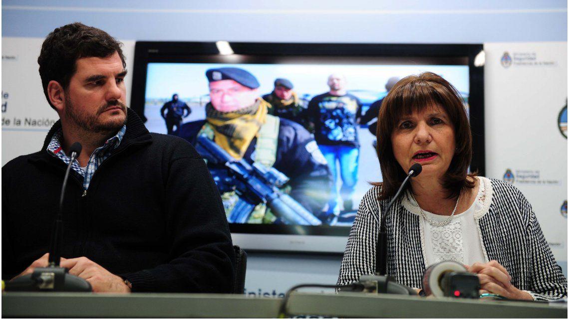 Bullrich negó que impulsen construir un muro con Bolivia
