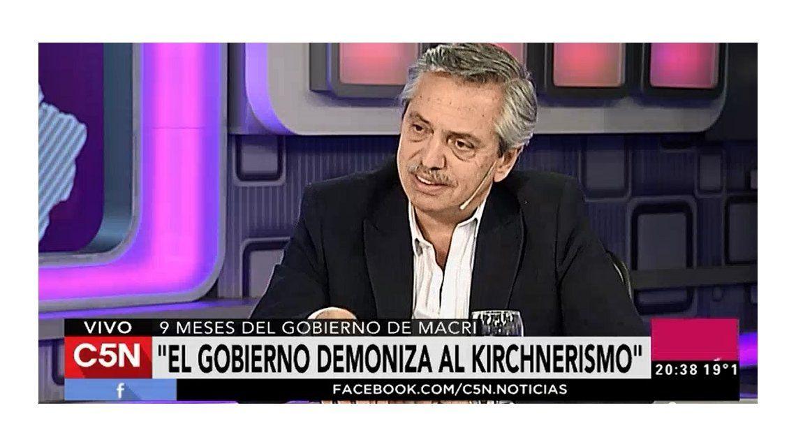 Alberto Fernández: Lo que le molesta a Macri es que Massa le va a ganar el año que viene