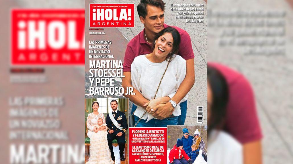 Las primeras imágenes del noviazgo de Martina Stoessel y Pepe Barroso