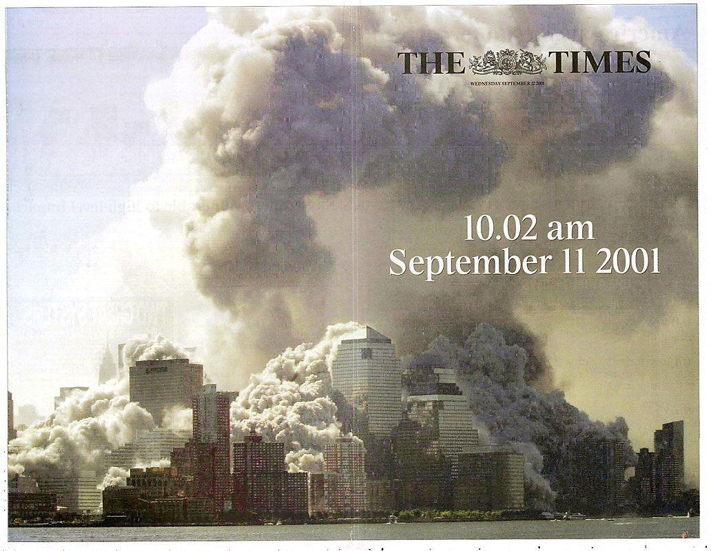 Así fueron las tapas de los diarios del día después del 11-S