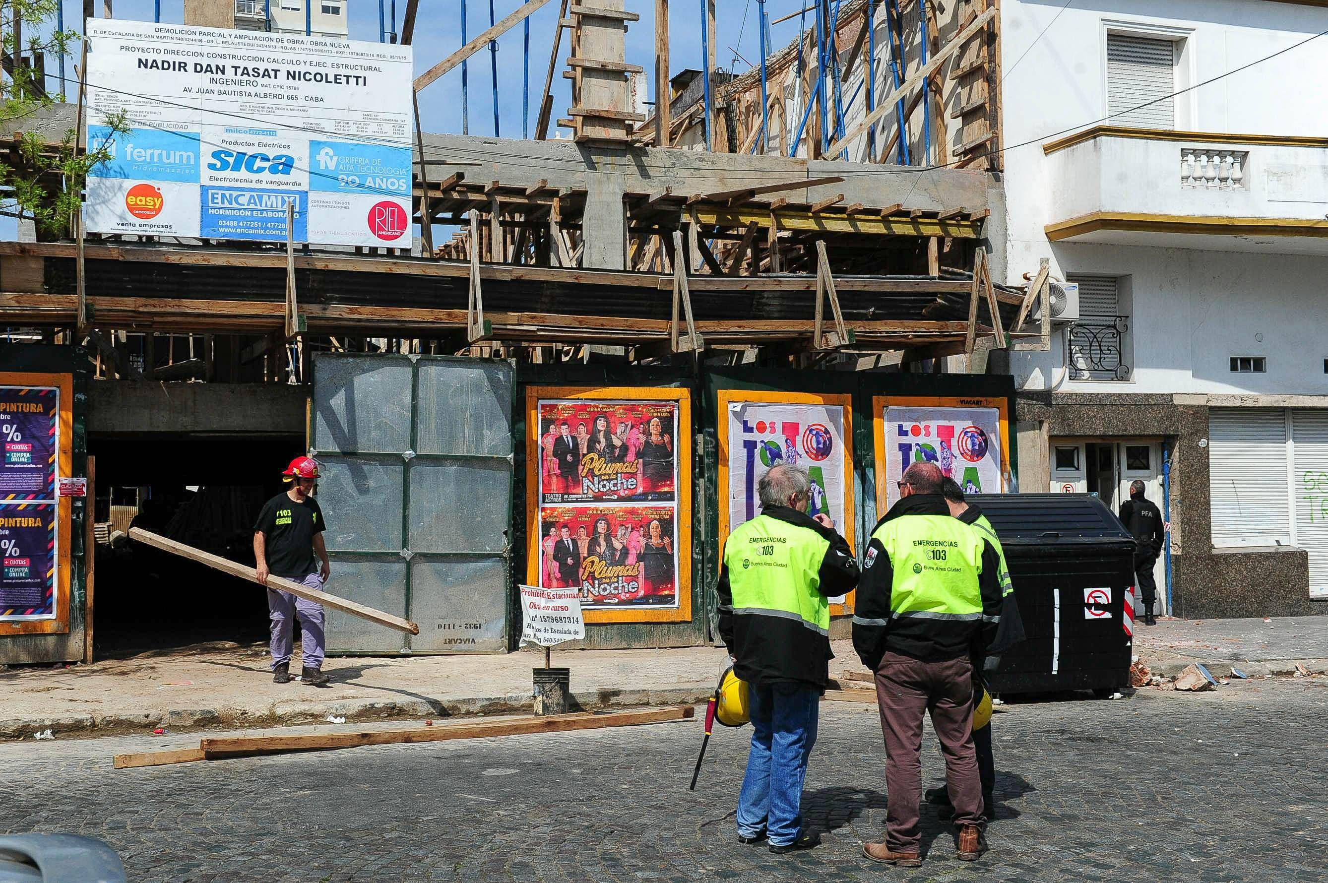 La obra en construcción donde murió el obrero no tenía denuncias