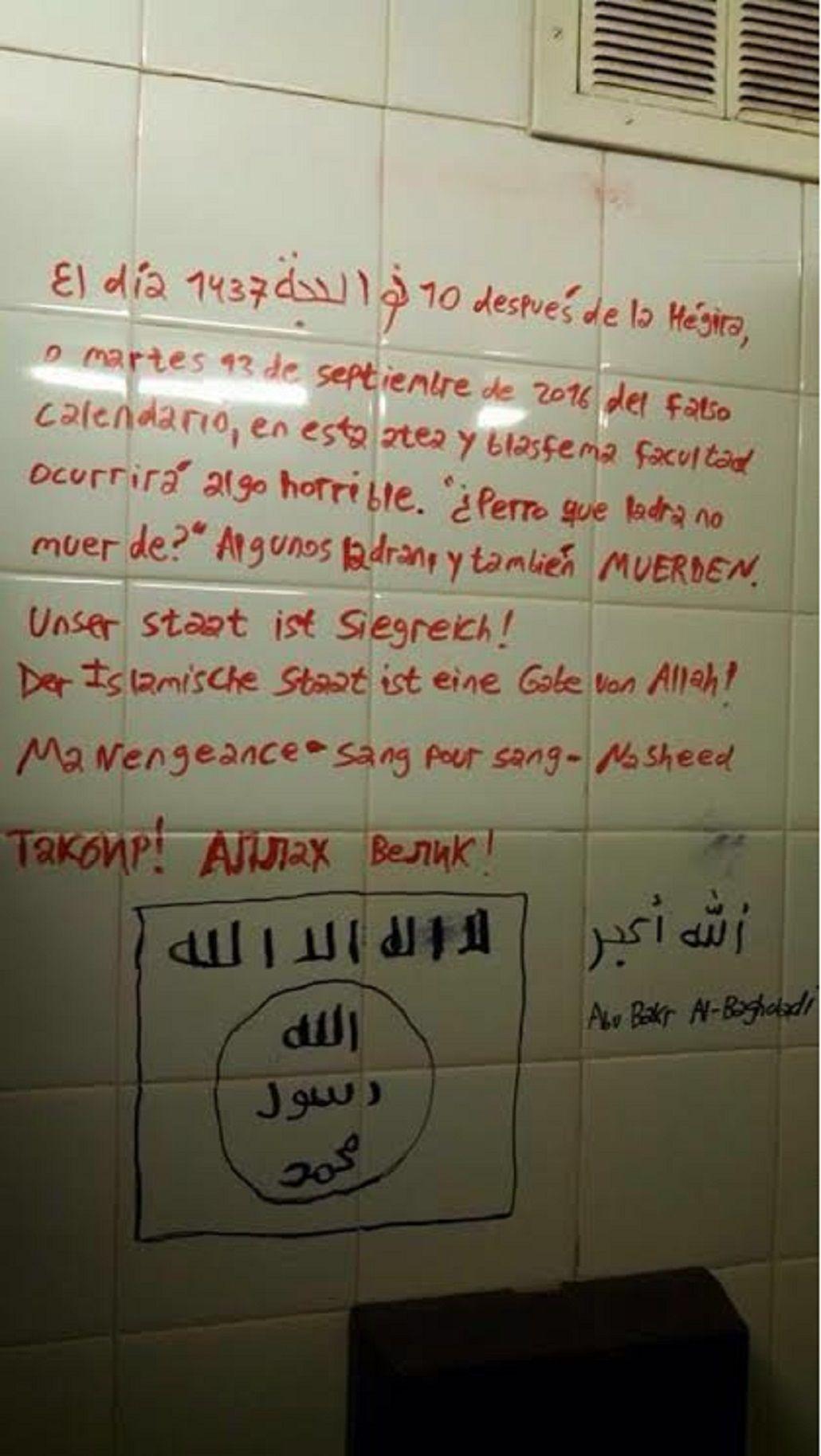 Amenazas en Exactas de la UBA: El martes ocurrirá algo horrible en esta atea y blasfema facultad