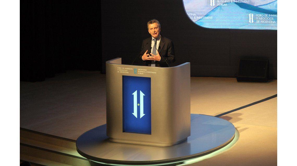 En el mini Davos, Macri convocó a empresarios a que inviertan en el país