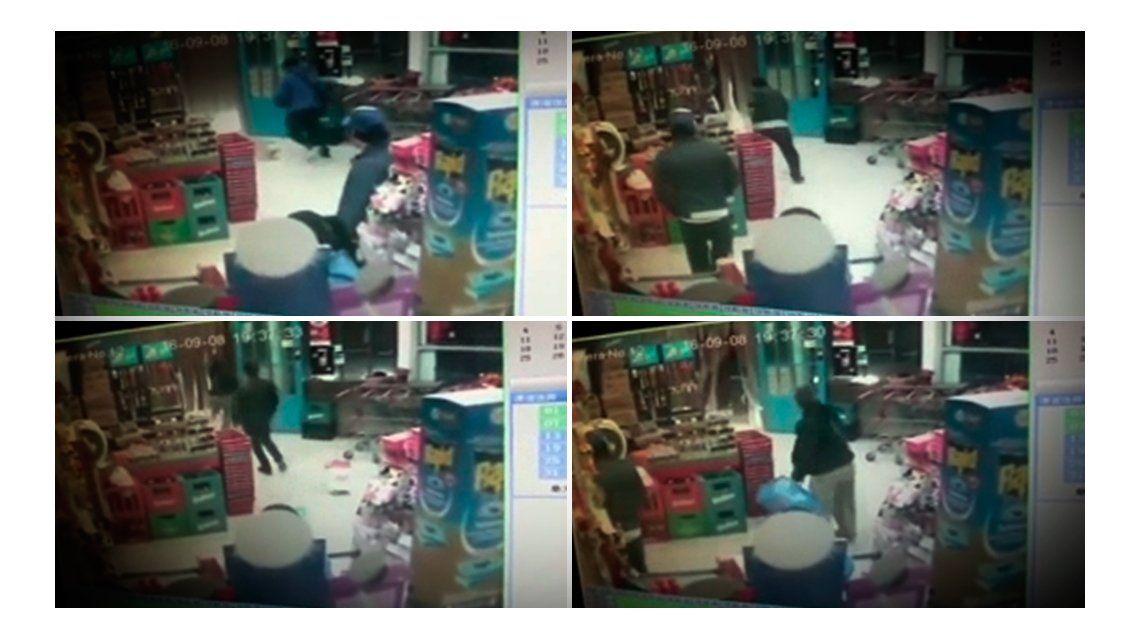 VIDEO: Así asesinaron al policía en el súper chino de Longchamps