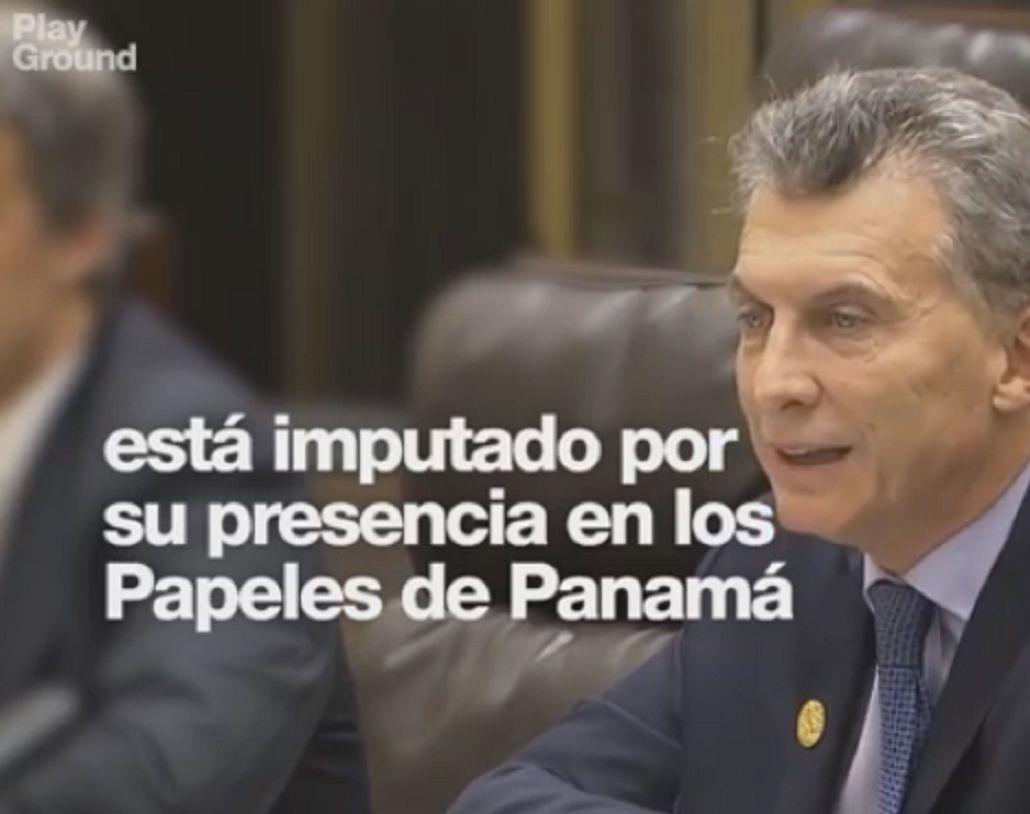 Un video sobre el G20 menciona la imputación de Macri por los #PanamáPapers