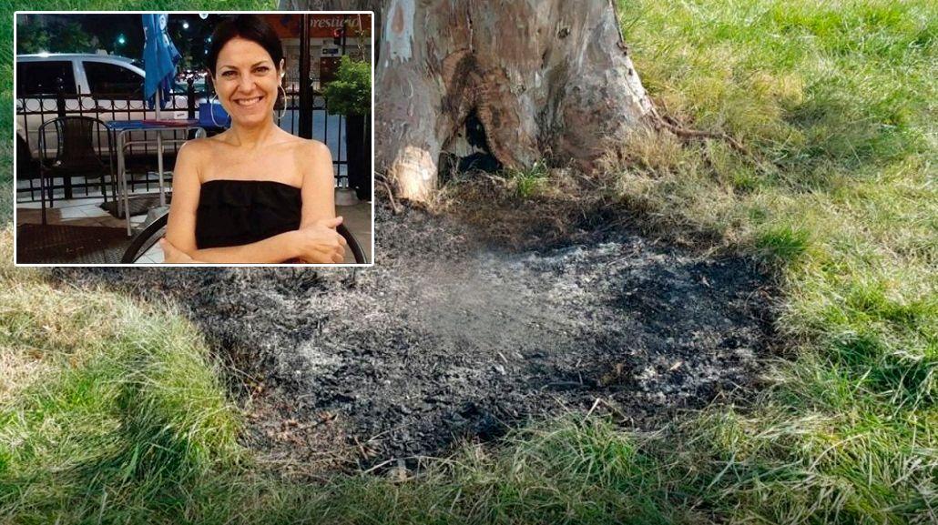 Dos sospechosos por el crimen de la mujer hallada carbonizada en una valija