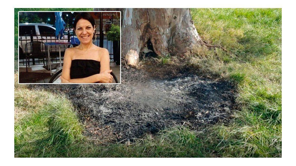 Identificaron a la mujer carbonizada dentro de una valija en la Ruta 2