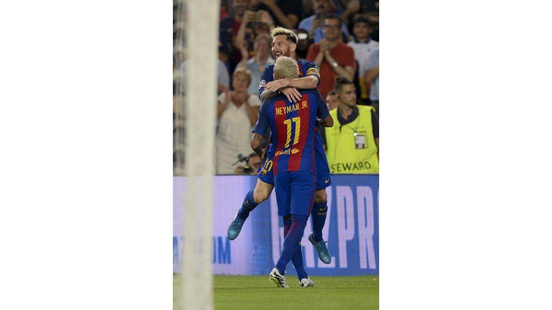 Imparables: el golazo del Barcelona tras la doble pared entre Messi y Neymar