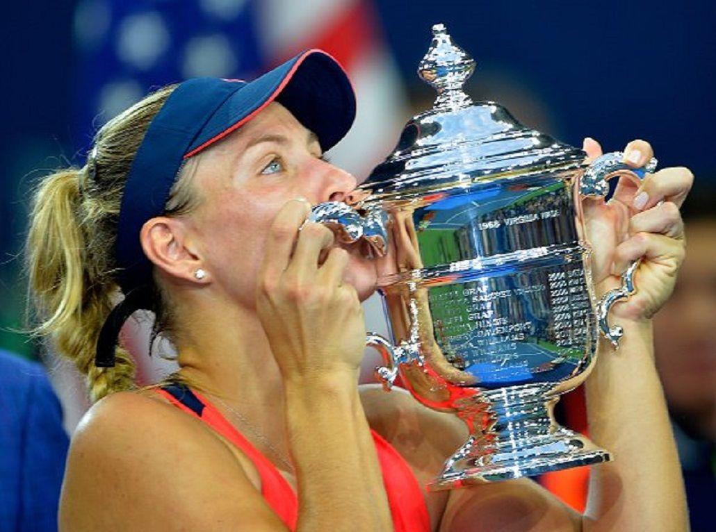 Angeline Kerber ganó el Abierto y es la segunda alemana que llega al número 1 del ranking de la WTA