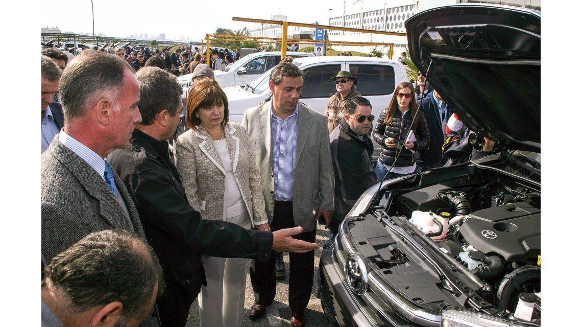 Secuestraron 250 vehículos comprados para lavar dinero del narcotráfico