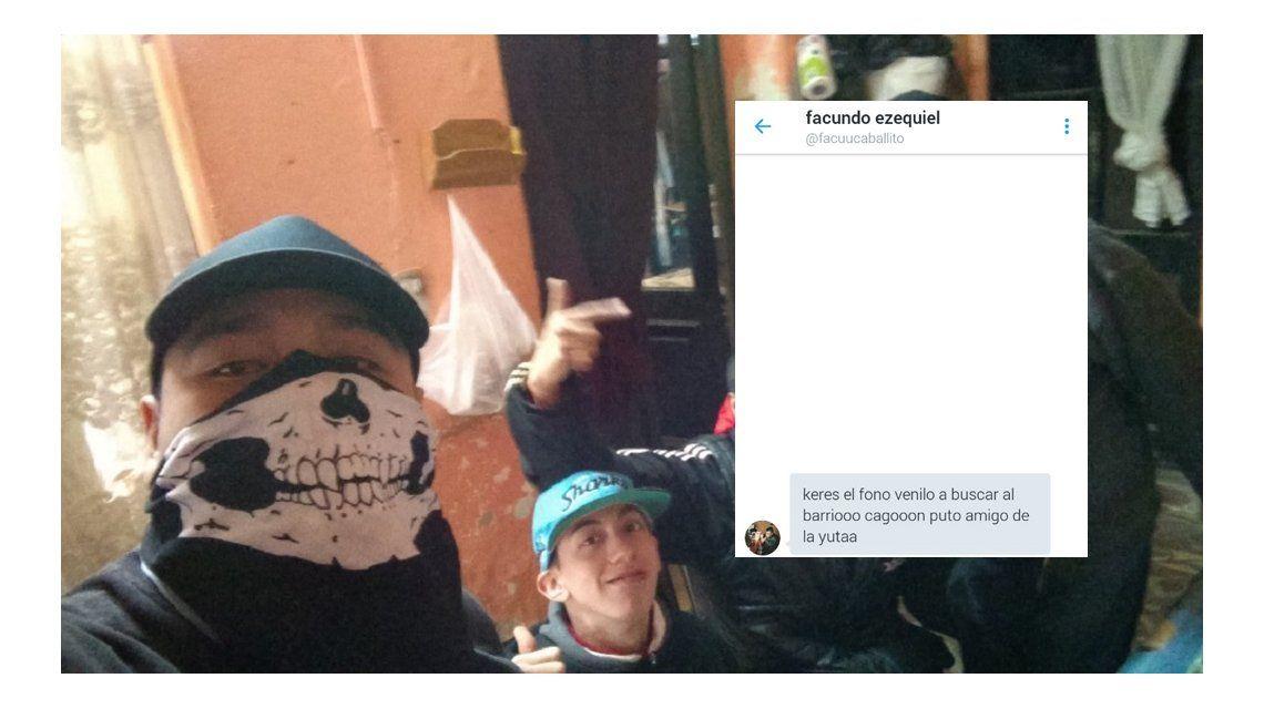 El ladrón de la selfie: Vení a buscar el celular al barrio cagón