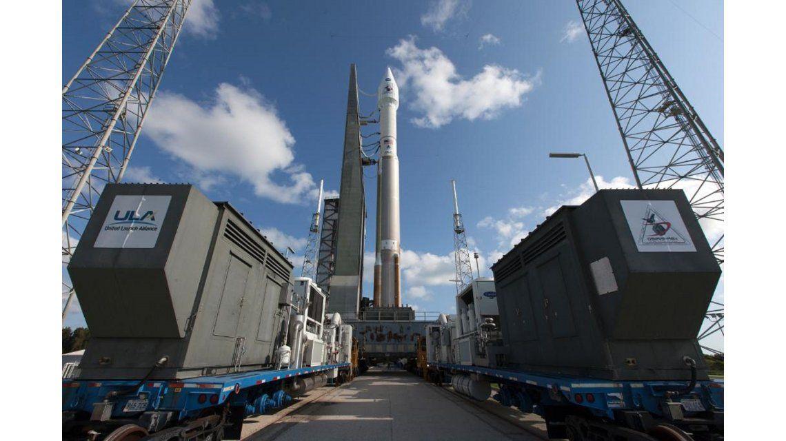La NASA lanzó una nave que viajará para estudiar al asteroide de la muerte