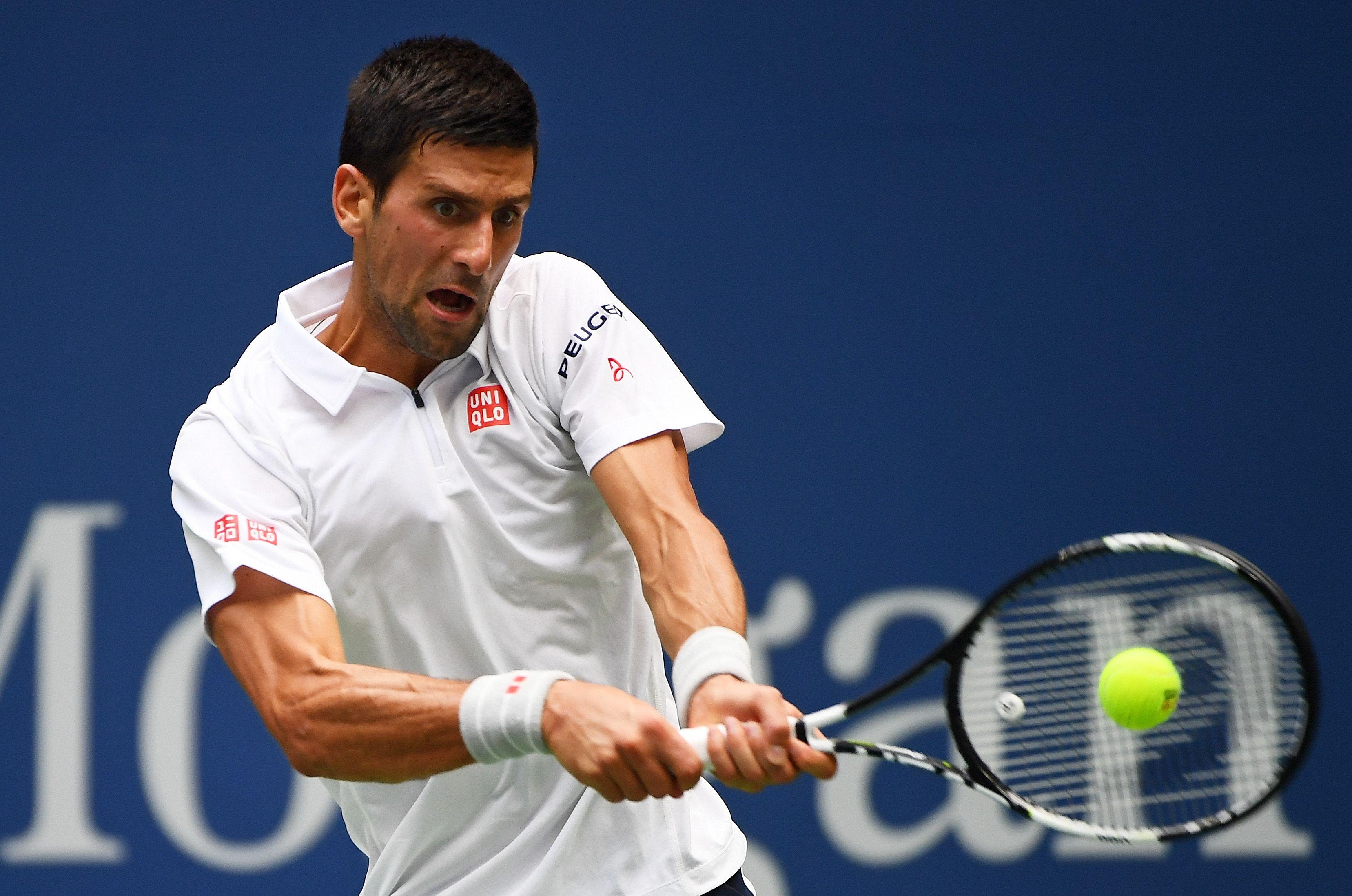 Arrollador: Djokovic superó a Monfils y es finalista del US Open
