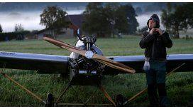 Insólito: Se fabricó un avión para llegar no llegar tarde a su trabajo