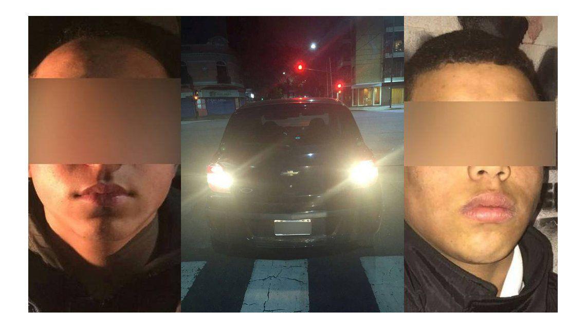 Detuvieron a dos menores de 12 y 14 años por robar un auto en Caballito