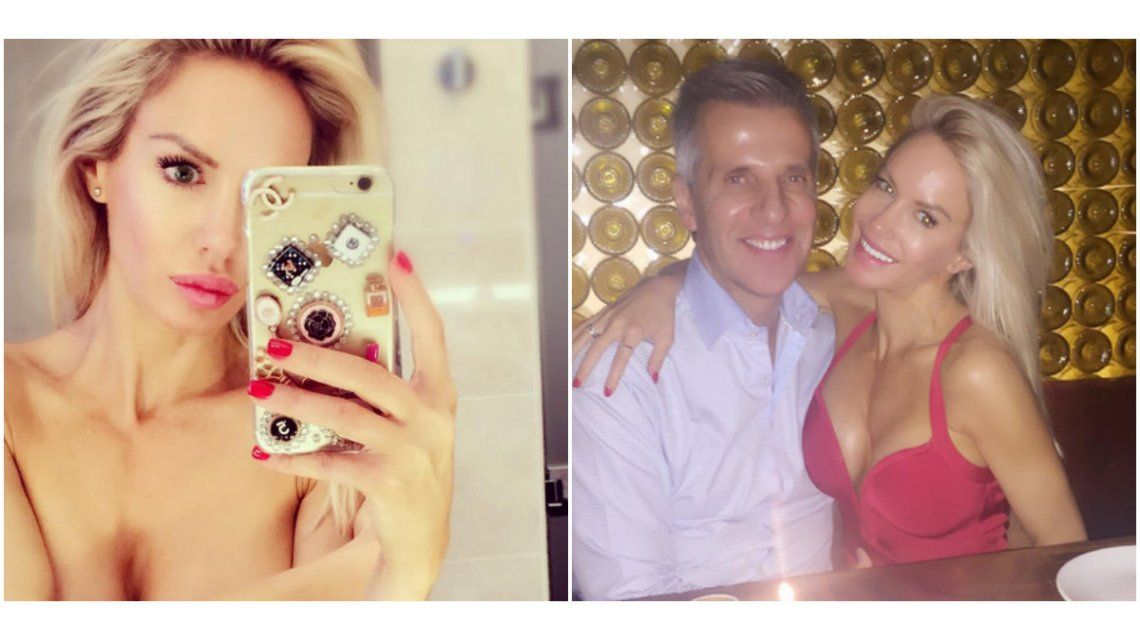 Luciana Salazar, en NYC: foto sexy en topless y festejo con Martín Redrado