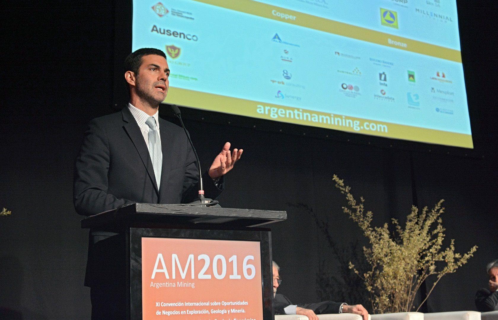 Juan Manuel Urtubey inauguró Argentina Mining 2016
