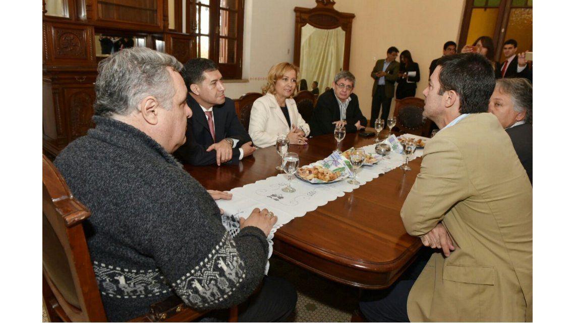 Urtubey visitó la Rioja para reforzar el compromiso de renovar el peronismo