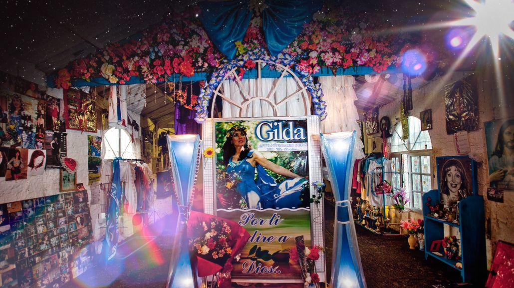 La polémica detrás del santuario de Gilda