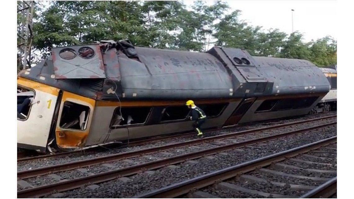 Descarriló un tren en España: hay al menos cuatro muertos