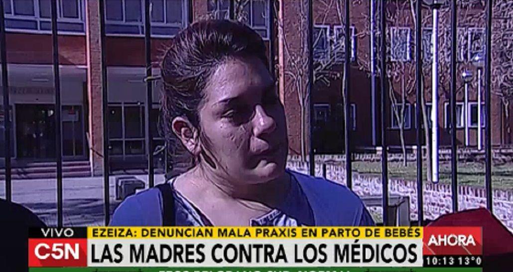 Ezeiza: denuncian mala praxis con bebés en un hospital
