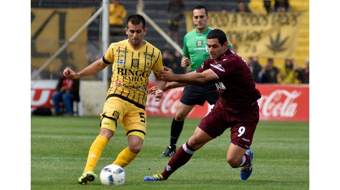 Lanús y Olimpo repartieron puntos en Bahía Blanca