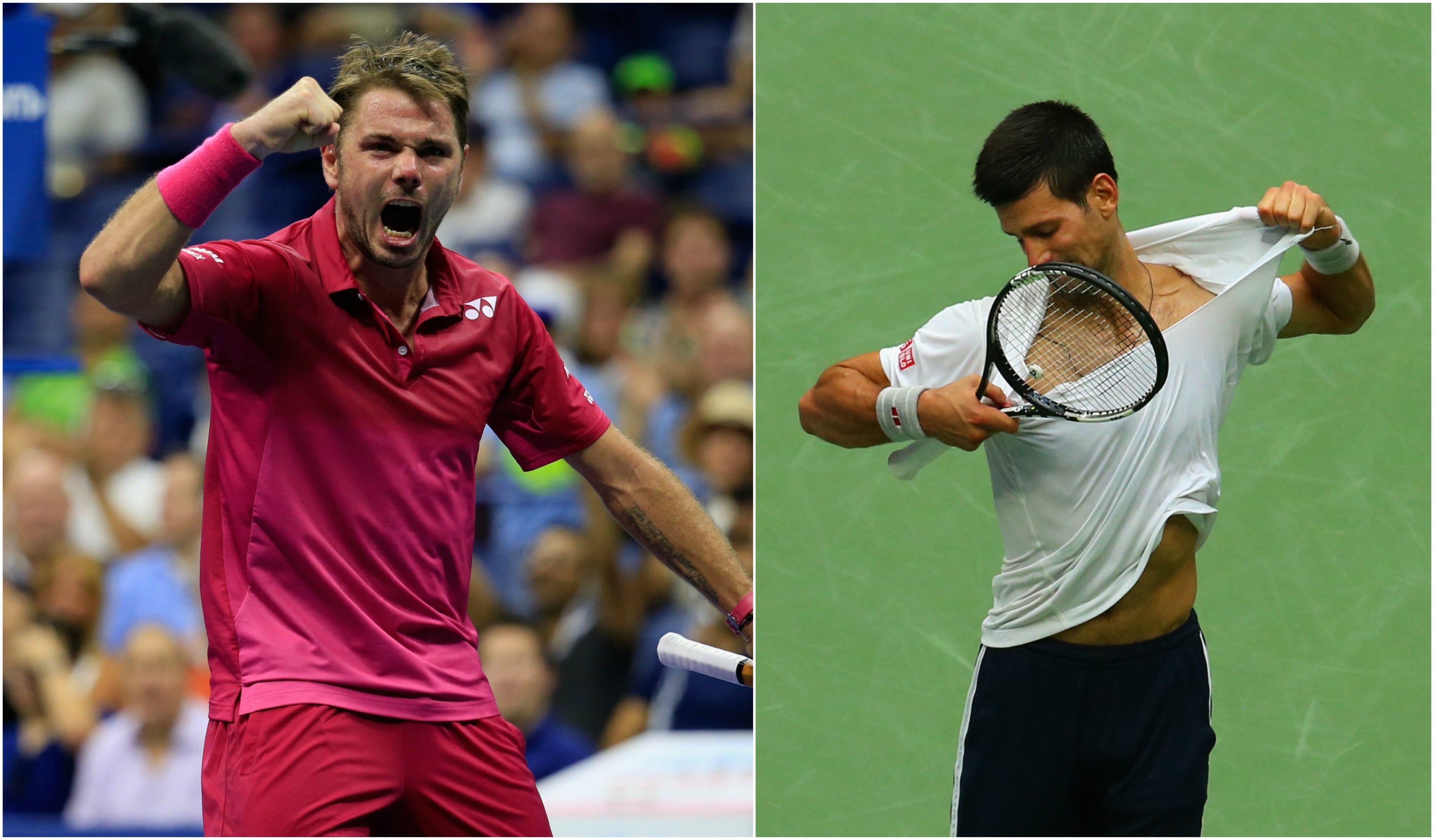 Se dio la lógica: Djokovic ante Wawrinka en la final del US Open
