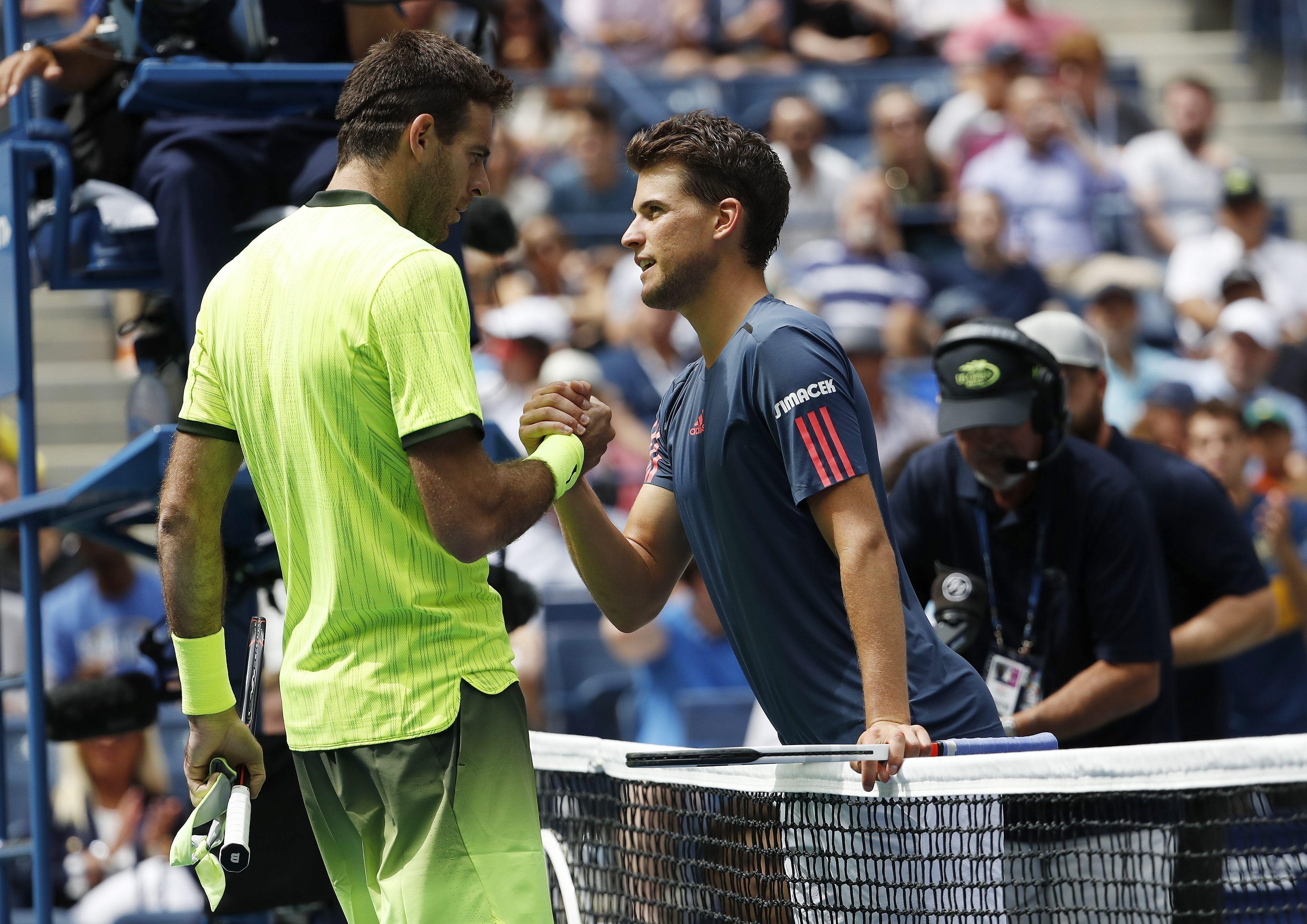 Sin transpirar, Del Potro pasó a cuartos de final del US Open