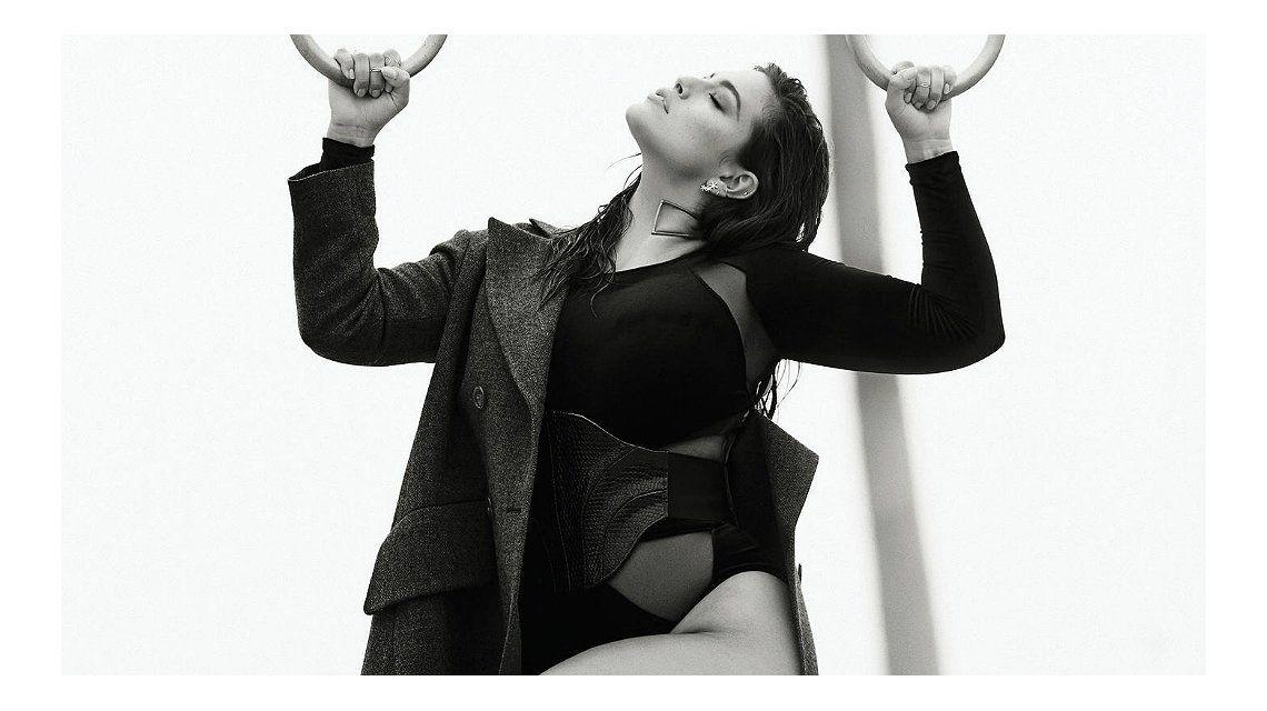 Ashley Graham, víctima de una tremenda edición digital de Elle Canada: mirá las fotos