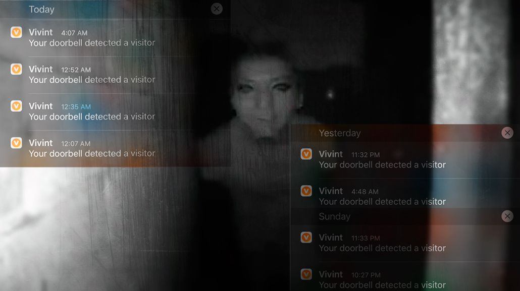 Las notificaciones que recibió el joven en su teléfono antes de desaparecer