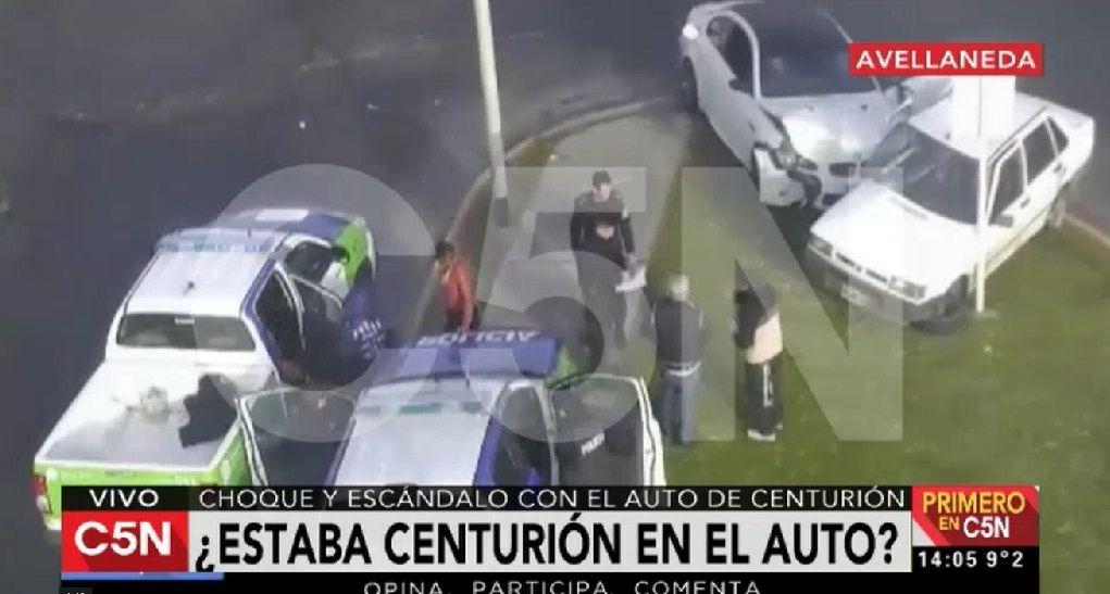 VIDEO: Así fue el choque por el que acusan a Ricardo Centurión