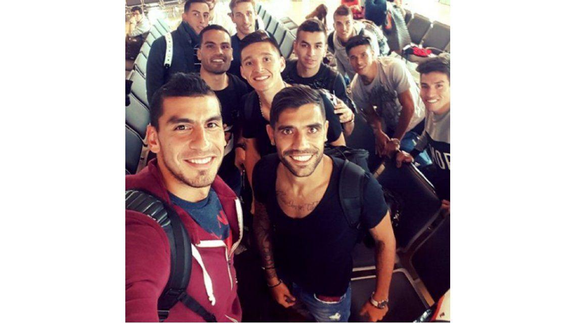 ¿Nos vemos en octubre? La Selección se despidió en el aeropuerto de Lima
