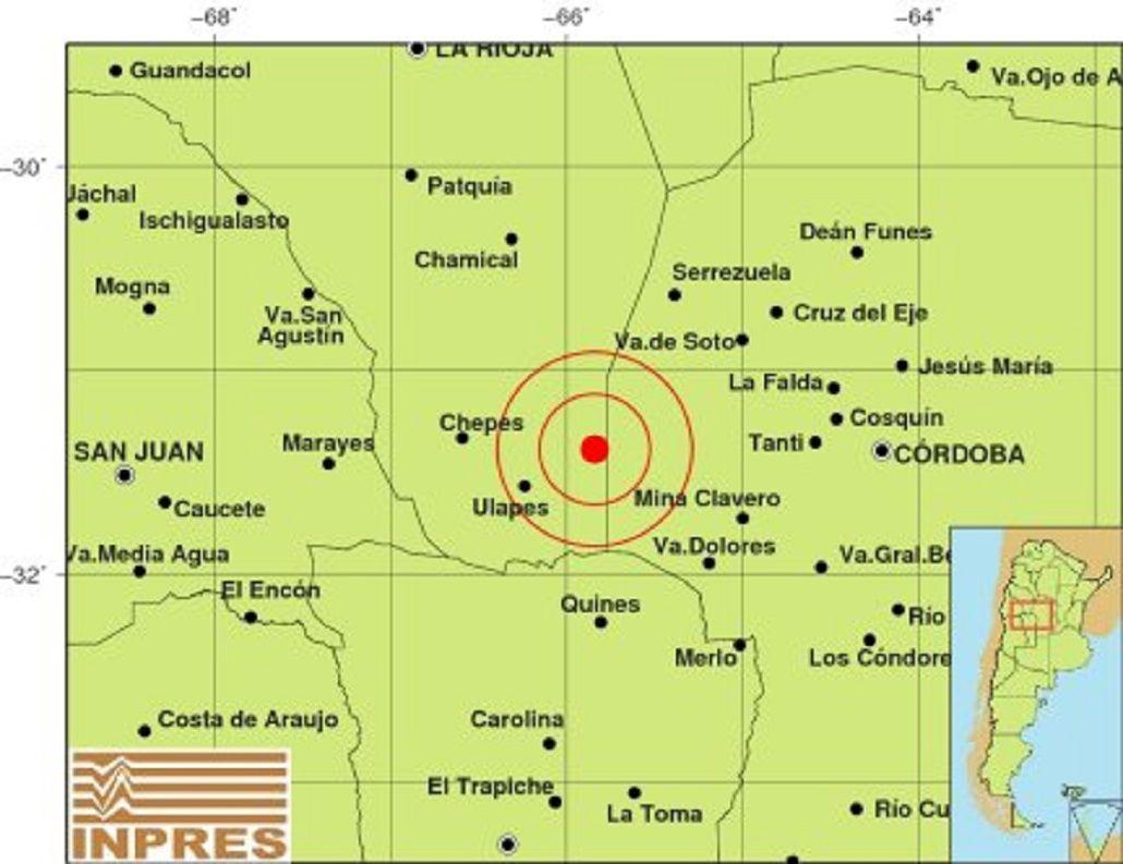 Un sismo de 5,1 grados en La Rioja se sintió también en otras provincias