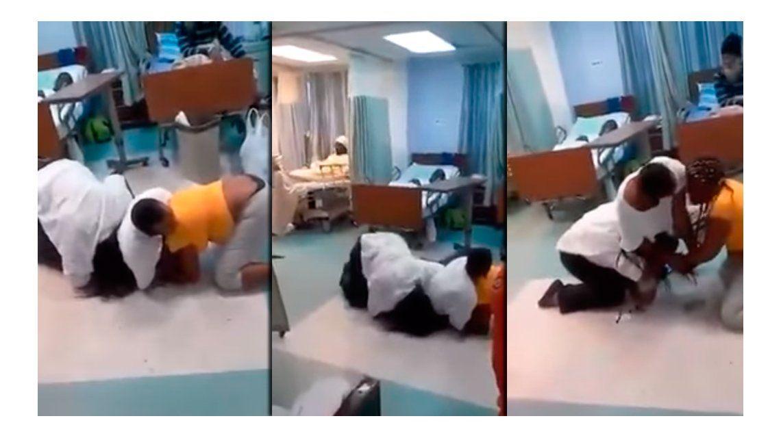 Se le juntó el ganado: su esposa y su amante lo visitaron en el hospital, y terminó mal