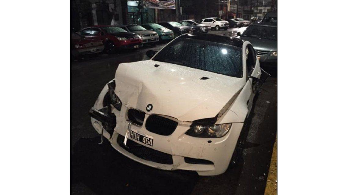 Un testigo del accidente asegura que el jugador de Boca Centurión manejaba y huyó