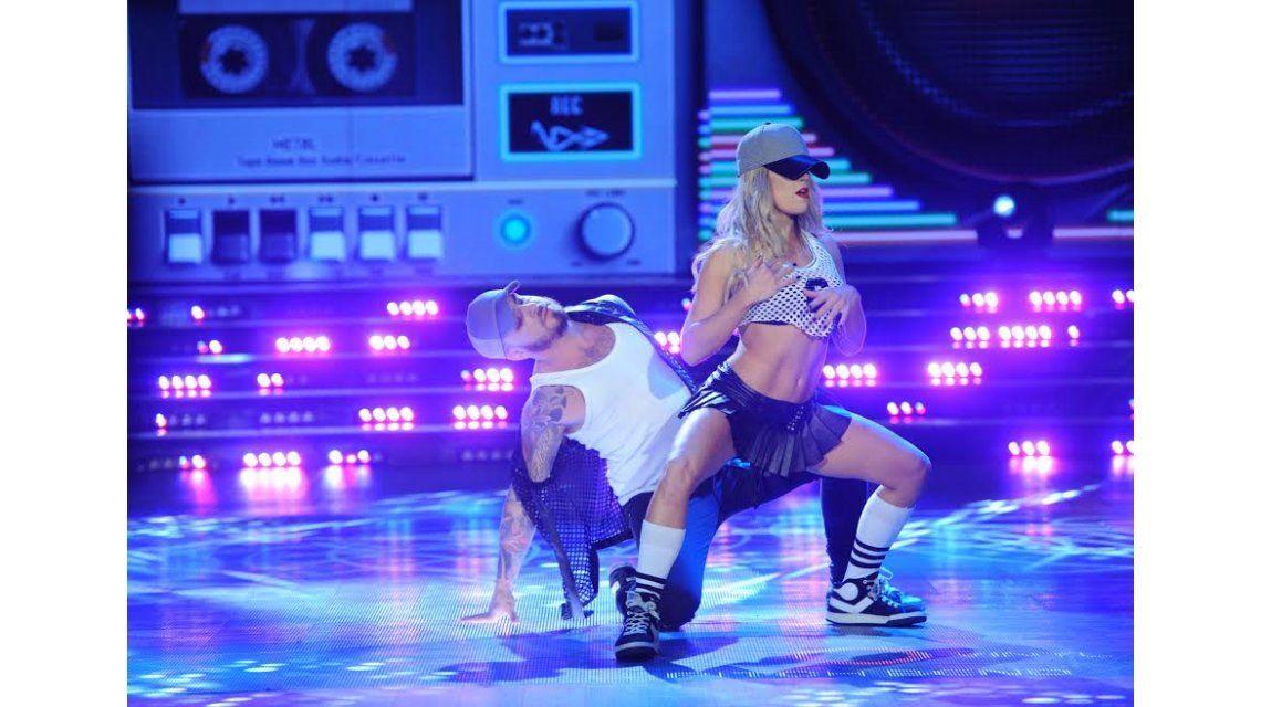 Fede Bal y Laurita Fernández se sacaron chispas en la pista con el reggaetón caliente