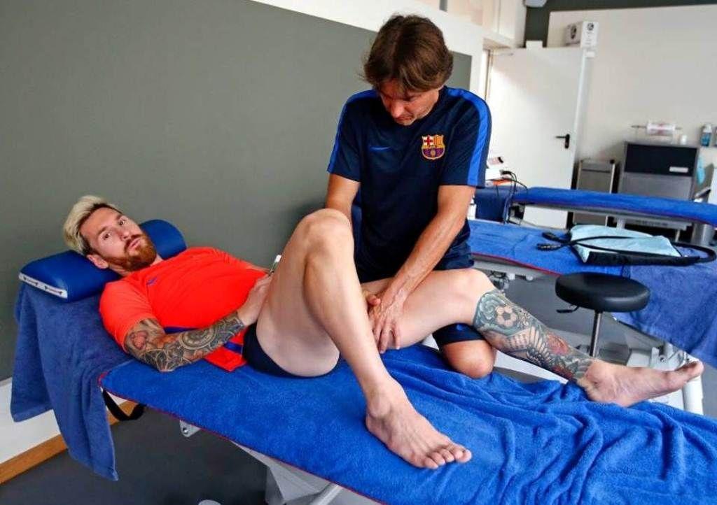 ¿Cómo está Messi de la lesión que lo marginó del partido ante Venezuela?
