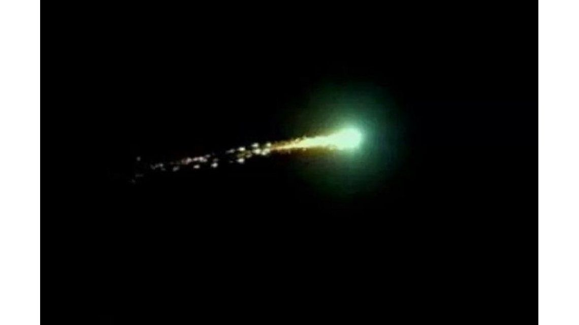 Sorpresa en San Luis: el extraño fenómeno que iluminó el cielo