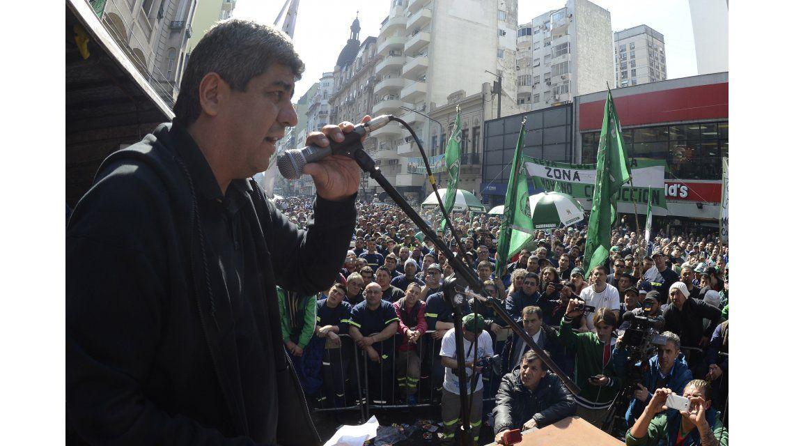 Pablo Moyano: No reabrir las paritarias es una provocación a los trabajadores