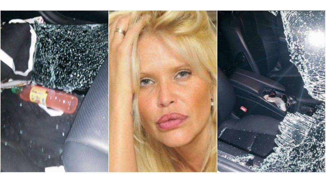 Desesperado pedido de ayuda de Nazarena Vélez tras un violento robo