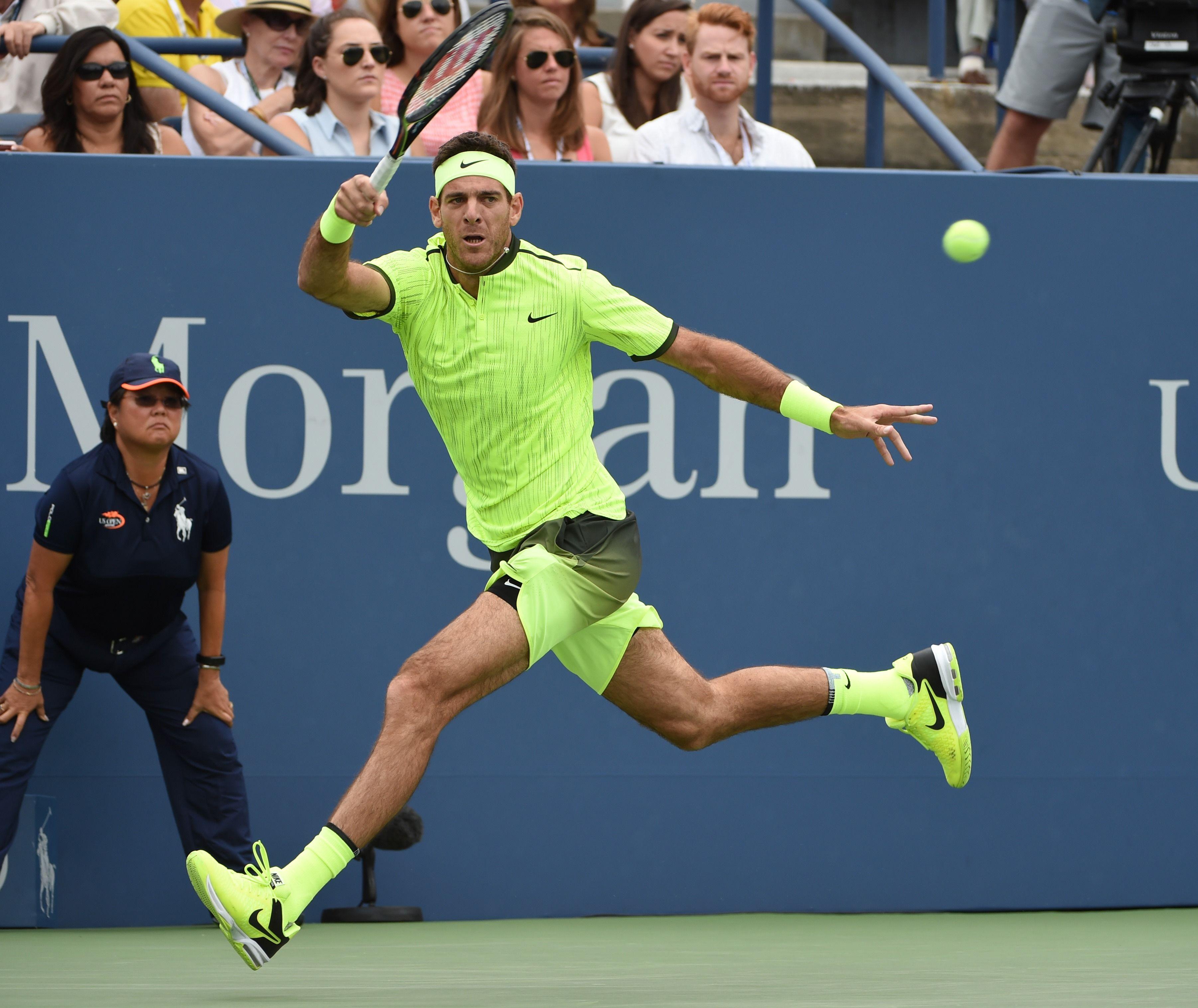 Del Potro gigante: se hizo fuerte ante Ferrer y avanza en el US Open